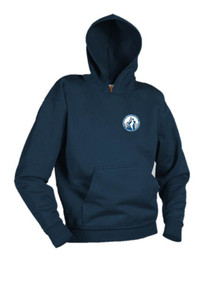 Navy Hooded Sweatshirt - Pinnacle