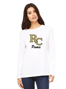 Ladies Jersey Long Sleeve T-Shirt -RC Poms