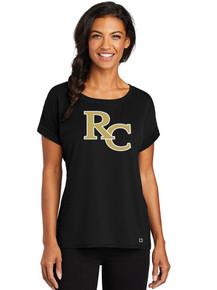 Ladies Luuma Cuffed T-Shirt - RC Poms