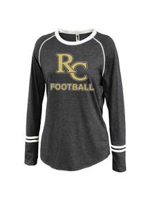 Ladies Ringer Stripe Crew - RC Football