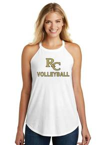 Ladies District Made Rocker Tank - RC Volleyball
