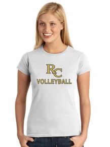 Ladies Softstyle Short Sleeve T-Shirt - RC Volleyball