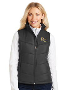 Ladies Port Authority Puffy Vest - RC Volleyball