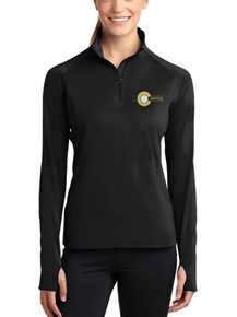 Ladies Long Sleeve Smooth 1/4 Zip -  RC Volleyball