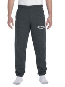 RC Girls Lacrosse Dark Gray Sweatpants w/Screen Print on Leg