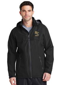 Black Waterproof Jacket - RC Golf