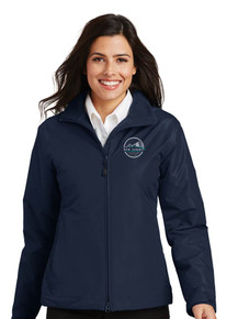 Ladies Navy Challenger Jacket - New Summit