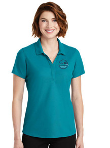 Ladies Teal Jade Performance Polo - New Summit