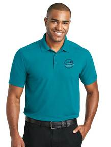 Men's Teal Jade Performance Polo - New Summit