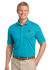 Men's Teal Jade Tech Pique Polo - New Summit