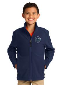 Navy Youth Soft Shell Jacket - New Summit