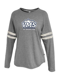 Girls Youth Sparkle Stripe Long Sleeve - VMS