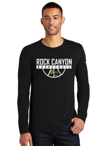 Core Cotton Men's Nike Long Sleeve Tee - RC Basketball