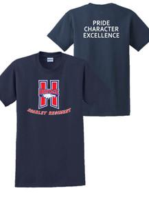 Cotton Short Sleeve T-Shirt - Scarlet Regiment