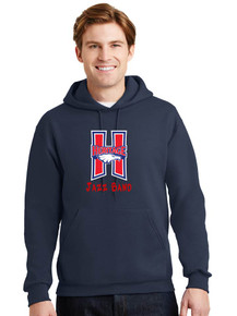 Pullover Hoodie -Jerzees Unisex- Heritage Bands