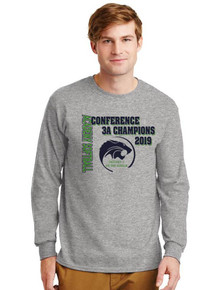 Long Sleeve Cotton T-Shirt - Academy Charter Conference Champs