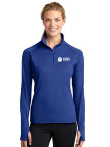Royal Ladies Long Sleeve Smooth 1/4 Zip - Colorado SKIES Acad.