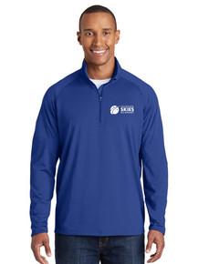Royal Men's 1/4 Zip Smooth Pullover - Colorado SKIES Acad.