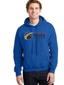 Royal Hooded Pullover Sweatshirt - Colorado SKIES Academy