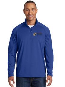 Royal Men's 1/4 Zip Smooth Pullover - Colorado SKIES Academy
