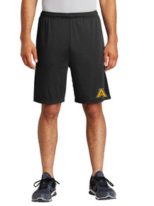Competitor Pocketed Shorts with 'A' Heat Press- ABG
