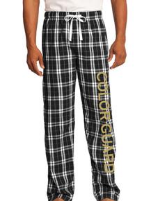 Black/White Flannel Plaid Pants - ABCG