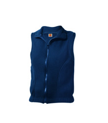 Zip-Front Fleece Vest