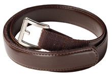 Belt - Velcro Leather - Black or Brown