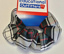 Hair Scrunchie Plaid 50