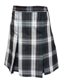 Girls Skirt - Center Box Pleat in Plaid 50