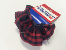 Hair Scrunchie Plaid 36