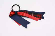 Ribbon Streamer Plaid 36