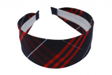 Large Headband in Plaid 36