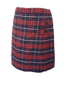 Plaid 36 - Girls Skort - 2 Button Tabs