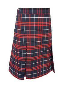 Plaid 36 - Girls Skirt - Center Box Pleat