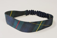 Stretch Headband in Plaid 83