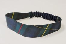 Stretch Headband in Plaid 83