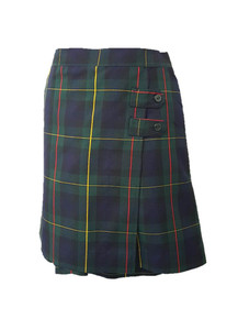 Girls Skort - 2 Button Tabs in Plaid 83