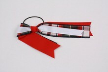 Ribbon Streamer Plaid 69