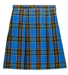 Plaid 92 - Girls Skirt - Center Box Pleat