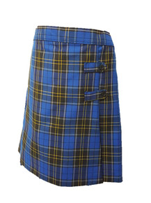 Plaid 92 - Girls Skort - 2 Button Tabs