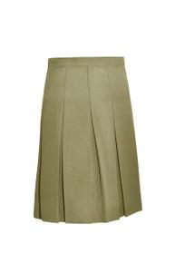 Girls Skirt - Stitched down ten pleat