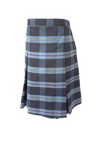 9A Plaid - Girls Skirt - Center Box Pleat