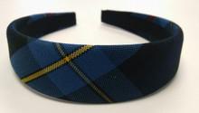 Padded Headband Plaid 9A