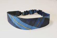 Stretch Headband in Plaid 9A