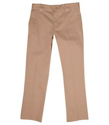 Value Line Girls Pant - Flat Frt Low Rise Pant - Khaki or Navy