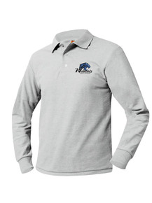 Pique Knit Long Sleeve Polo Shirt - Legacy