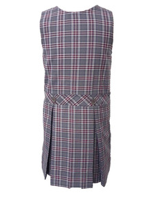 Girls Jumper - Drop Waist in Plaid 6T