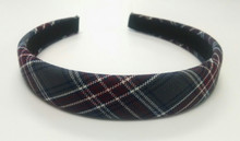 Padded Headband Plaid 6T