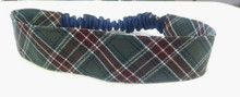 Stretch Headband in Plaid 6T